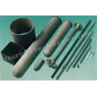 China Thermocouple Components Nitride Bonded Silicon Carbide NSiC Thermocouple Protection Tube wholesale