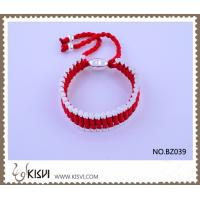 China Hot Selling Handmade Bracelet in Red BZ039 wholesale