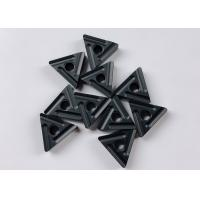 China Heat Resistant Triangle CNC Machine Insert Black Color For Cast Iron wholesale