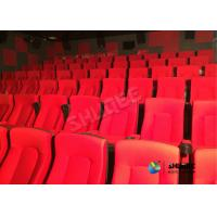 China Frequency Vibration Effect Red Movie Theater Seats / Chairs Easy Installation wholesale