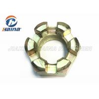 China DIN 935 Stainless Steel Nuts Hexagon Slotted Nuts And Castle Nuts With Metric Coarse And Fine Pitch Thread wholesale
