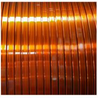 China 120 Class Polyvinyl Acetal Enamelled Copper Winding Wire Self - Adhesive Flat wholesale