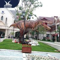 China Vivid Life Size Realistic Dinosaur Statues For Zoo Decoration Sunproof wholesale