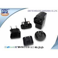 China Black EU US UK AU Plug 5V 2A USB Universal Travel Adapter for Visual Products wholesale