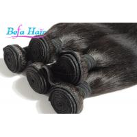 China Natural Black / Blonde Spiral Curl Cambodian Hair Bundles 14-16 Inch Hair Extensions wholesale