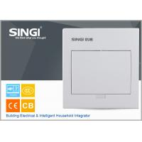 China MCB power electrical distribution box SINGI brand GNB 3007 7 ways ivory-white color power distrbution box wholesale