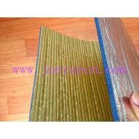 China Reinforced foil XPE thermo break foil foam insulated board 8mm wholesale
