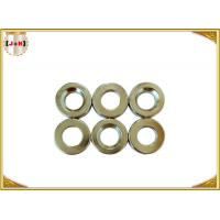 China Nickel Finish Sew On Magnetic Button Clasp 18mm Diameter Die Casting Products wholesale