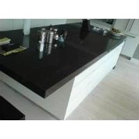 China 25mm Eased Edge Artificial Granite Solid Surface artificial marble kitchen countertop wholesale