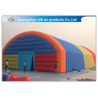 China Giant Inflatable Party Tent Inflatable Structure Multi Color , 18*10m wholesale