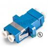 China LC UPC Duplex Single Mode Fiber Adapter Connecting LC / UPC to LC / UPC wholesale