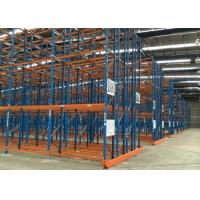 Quality Logistic equipment heavy duty storage double deep pallet racks for sale