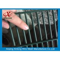 China 358 High Security Wire Netting Fence / Anti Climb Wire Mesh Security Fencing wholesale