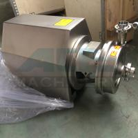 China SS304 316 Sanitary food grade Centrifugal transfer pump  1.5hp food grade clean water pump wholesale