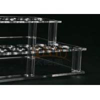 China Customized Clear Acrylic Makeup Display Stand Lipstick Display Holder wholesale