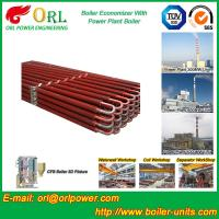 China 100 Ton Natural Gas Boiler Economiser In Thermal Power Plant Non Toxic wholesale