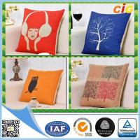 China Polyester Home Textile Products Sofa Seating Cushion Covers with Cotton wholesale