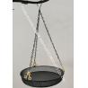 China Multi-function bird feeder, Metal round tray hanging bird feeder for garden wholesale