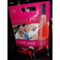 Reusable Laminated Stand Up Pouch With Spout For Red Wine , Grape Wine