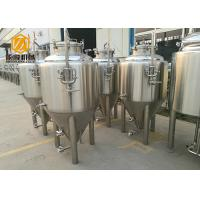 China Bright Color Beer Stainless Steel Tank 100L Glycol / Alcohol Water Cooling wholesale