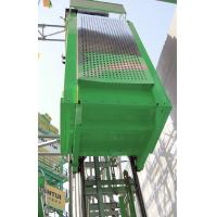 China Vertical Single Car 300kg Capacity Industrial Lift , Construction Elevator wholesale