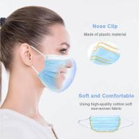 China 3 Ply Non Woven Face Mask Blue Medical Surgical Disposable Face Masks wholesale