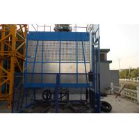 China Rack and Pinion Building Material Hoisting Equipment / Construction Lift 1T - 3.2 T wholesale