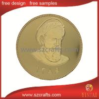 China commemorative gold coin , collectable golden coin wholesale