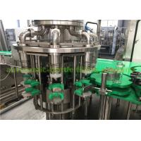 China Small Glass Bottle Juice Filling And Packing Machine For Hot Liquid 380V wholesale