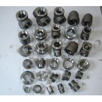 "China Stainless Steel Forged Fittings Nickel Alloy Carbon Steel forged fitting NPT 1"" 3000# A182 / A105 B16.11 wholesale"