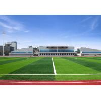 Natural Looking Artificial Football Turf Fake Lawn 60mm Pile Anti Color Fading