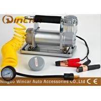 China Metal Auto Tyre Inflator Tool 150psi Max Pressure Electronic small portable air compressor Pump on sale