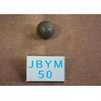 Quality B2 D50mm High Hardness 62-63HRC Grinding Balls For Mining , Mine Steel Ball for Cement Mill for sale