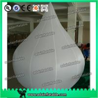China 2m Customized Event Inflatable Balloon White Waterdrop wholesale