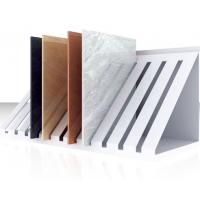 China Free Standing Floor Tile Display Racks For Retail Stores Strong And Stable on sale