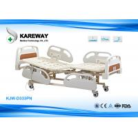 China Three Functions Electric Care Hospital Bed With Plastic Base In X-Ray Room wholesale