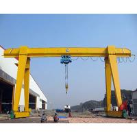 China Yuantai China top design Single Beam Gantry Cranes For Lifting Steel Pipes Outdoor Usage wholesale