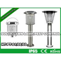 China Hitechled Solar Lawn Lamp,Solar Pest Control,Solar Bug trap Zapper,Solar Insect Killer HT-PT-01 wholesale