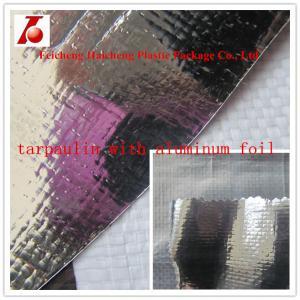 China aluminum foil pe tarpaulin wholesale