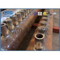 China ASME Certification Manifold Headers , Carbon  Steel Boiler  Fired Boiler Parts For Power Plant wholesale