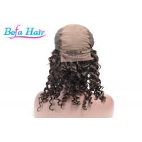 China Virgin Remy Deep Curl Human Hair Lace Front Wigs 20 Inch / 30 Inch wholesale