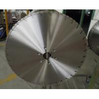 China 600mm Laser Welded Diamond Wall Saw Blades for Wall Saws , reinforced concrete saw blade on sale