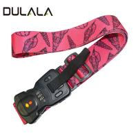 China Professional Manufacturer Custom Heat Transfer Luggage Scale Bag Belt With Digital Lock wholesale