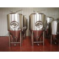 China All stainless steel Glycol jacket carbonation stone 10BBL Conical beer fermenter wholesale