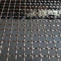 China Woven Stainless Steel 304 Double Crimped Wire Mesh Hooked Mine Sieving Screen wholesale