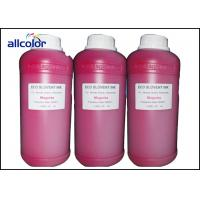 China Epson Eco Solvent Ink For Dx5 Dx6 Dx7 / Artificial Leather Printing wholesale