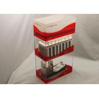 China 2 Tier Electronic Cigarette Acrylic Display Holders For Supermarket wholesale