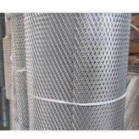 China Powder Coating Aluminum Expanded Metal Mesh For Facade Cladding / Ceiling wholesale