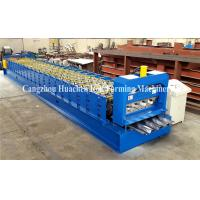 China Steel Stucture Decking Floor Deck Roll Forming Machine High Efficiency wholesale