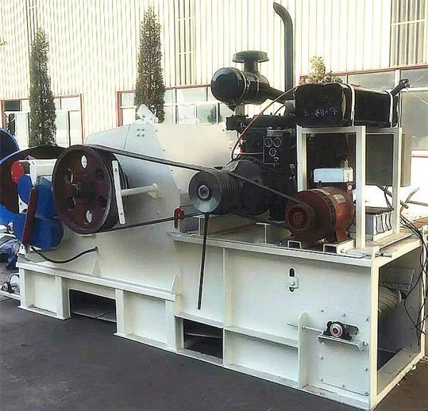 diesel wood chipper